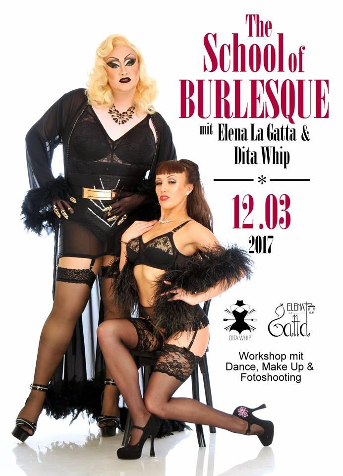 Burlesque und Tänzerin Elena Auerbach