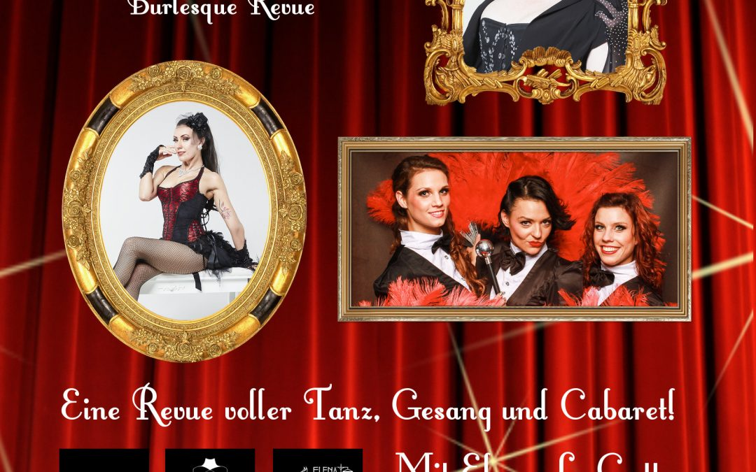 The Burly Show – A Night Of Vintage Glamour am 24 November in Freiburg